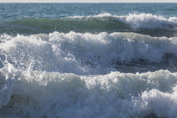 Photograph - Pounding Surf by Cliff Wassmann