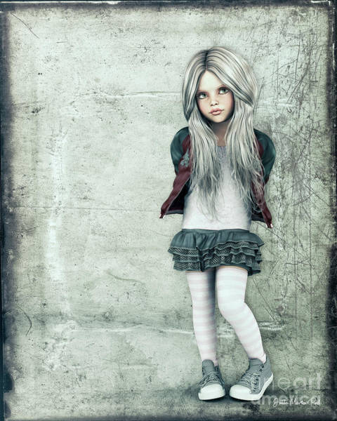 Digital Art - Pout by Jutta Maria Pusl