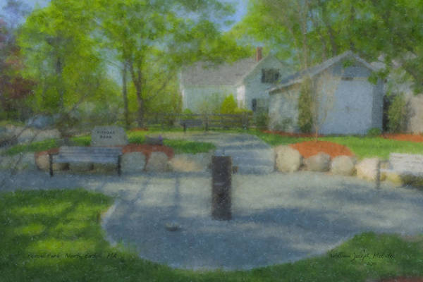 Painting - Povoas Park by Bill McEntee