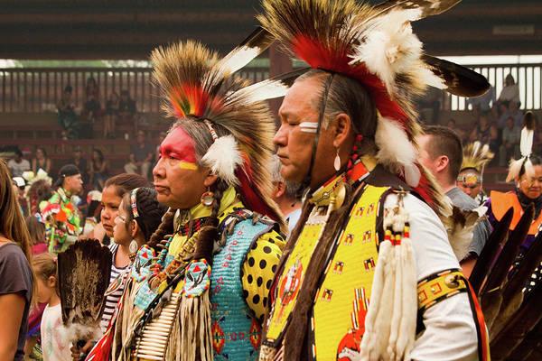 Powwow Wall Art - Photograph - Pow Wow Celebration No 13 by David Smith