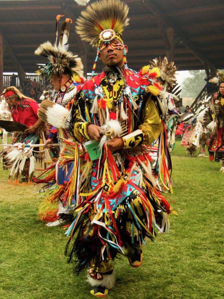 Powwow Wall Art - Photograph - Pow Wow Celebration No 14 by David Smith
