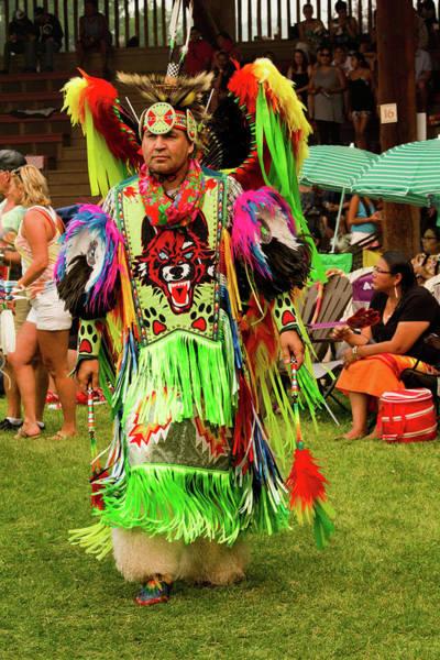 Powwow Wall Art - Photograph - Pow Wow Celebration No 16 by David Smith