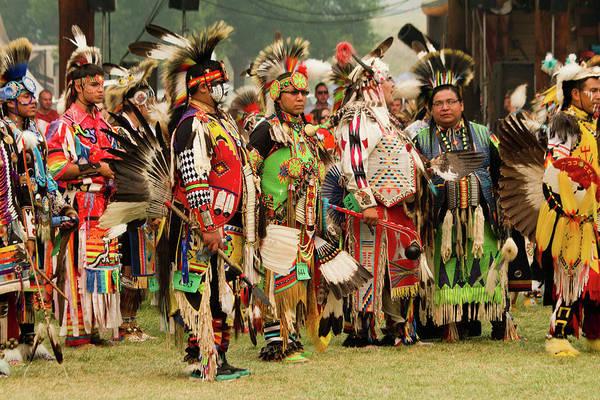 Powwow Wall Art - Photograph - Pow Wow Celebration No 2 by David Smith