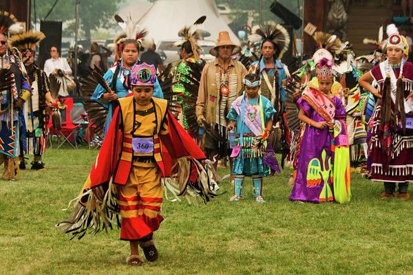Powwow Wall Art - Photograph - Pow Wow Celebration No 4 by David Smith