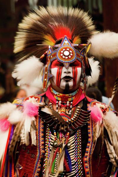 Powwow Wall Art - Photograph - Pow Wow Celebration No 6 by David Smith