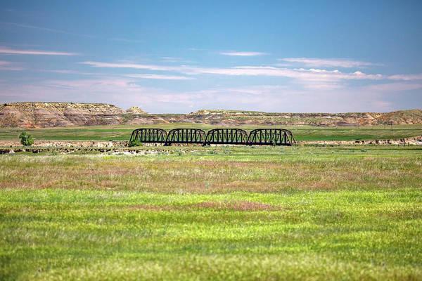 Photograph - Powder River Bridge by Todd Klassy