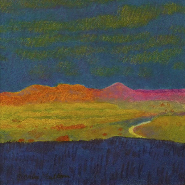 Painting - Powder River Dream by Cris Fulton