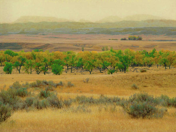 Photograph - Powder River October Reverie by Cris Fulton