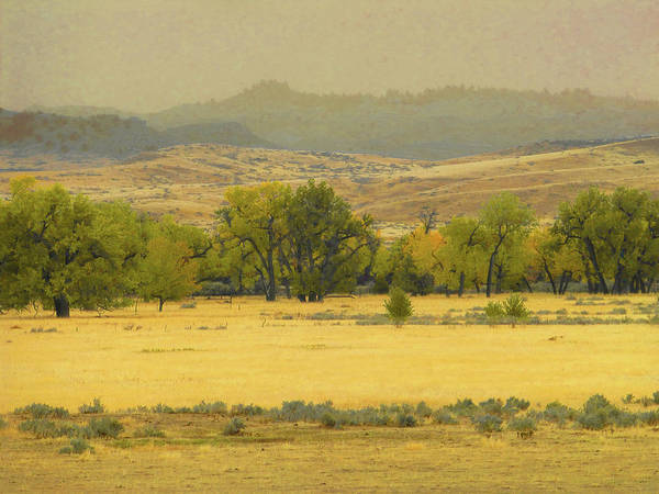 Photograph - Powder River Territory Reverie by Cris Fulton
