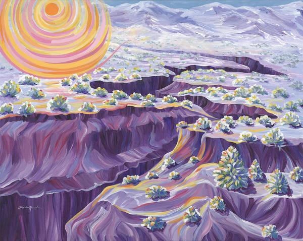 Painting - Powdered Sugar Morning by Linda Rauch