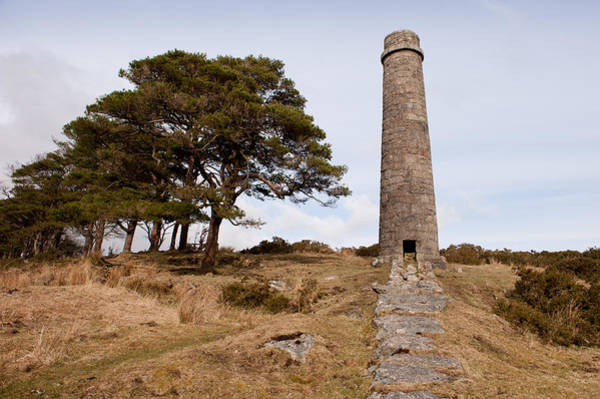 Photograph - Powdermills Chimney by Helen Northcott