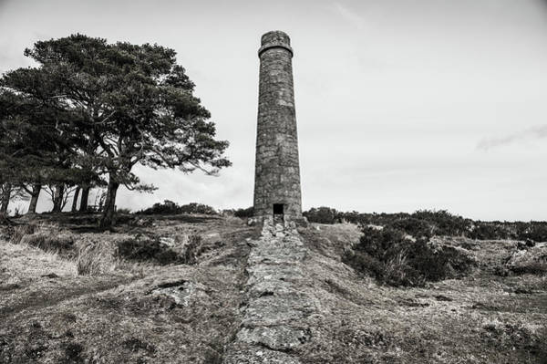 Photograph - Powdermills Chimney II by Helen Northcott