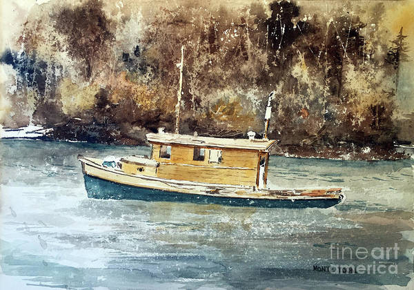Painting - Powell River Canada by Monte Toon