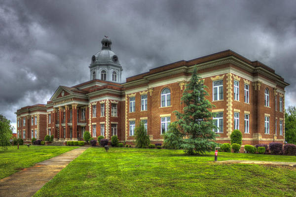 Photograph - Power House 2 Putnam County Court House by Reid Callaway