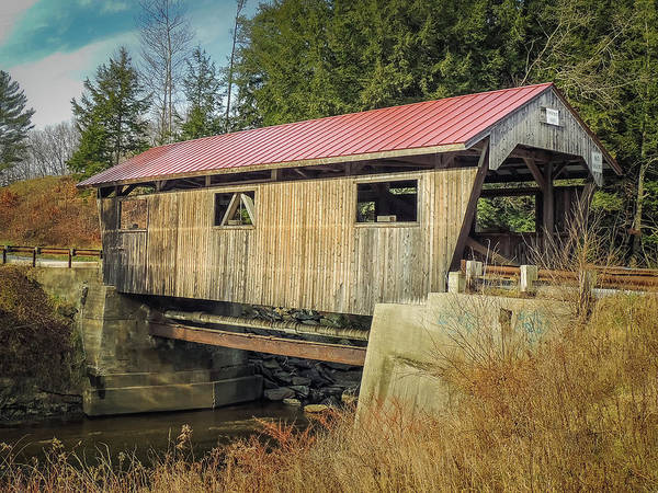 Photograph - Power House Bridge by Robert Mitchell