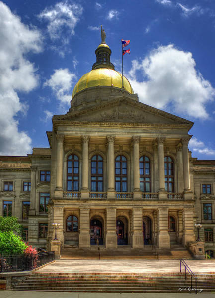 Capital Of Georgia Photograph - Power House One Georgia State Capital Atlanta Ga Art by Reid Callaway