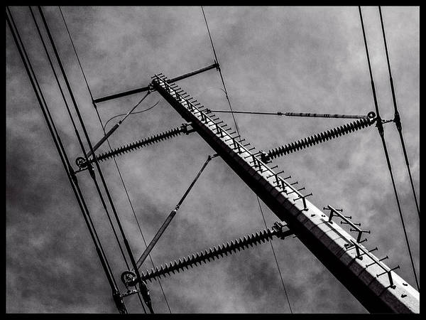 Photograph - Power Line Sky by Frank Winters
