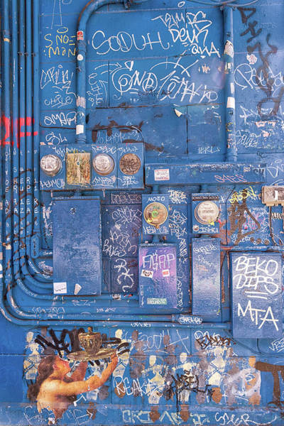 Photograph - Power Meter Graffiti by Victor Culpepper