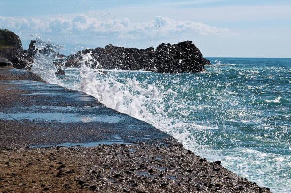 Photograph - Power Of Sea by Silva Wischeropp