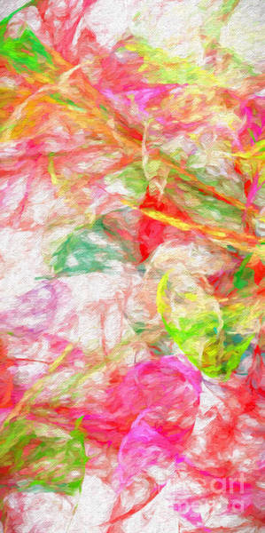 Digital Art - Power Of The Wind Abstract Panorama by Andee Design