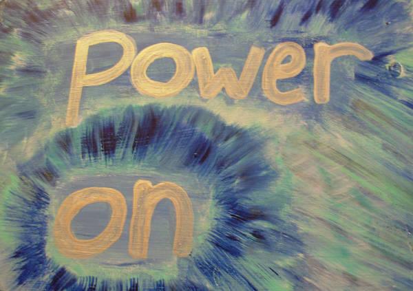 Painting - Power On by Sophia Landau