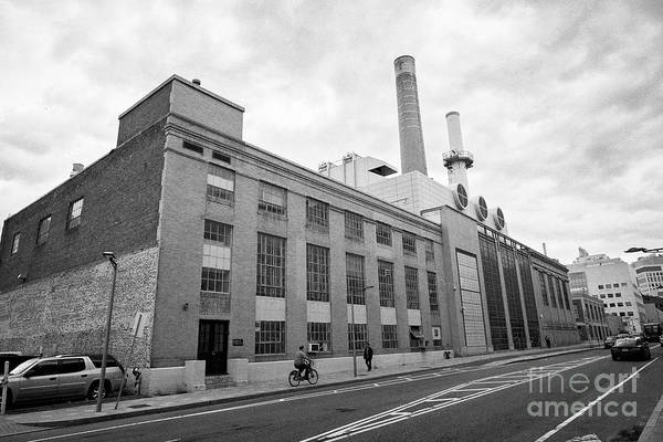 Wall Art - Photograph - power plant building MIT massachusetts institute of technology Boston USA by Joe Fox