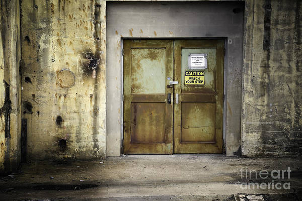 Photograph - Power Plant Door 1 by Patrick M Lynch