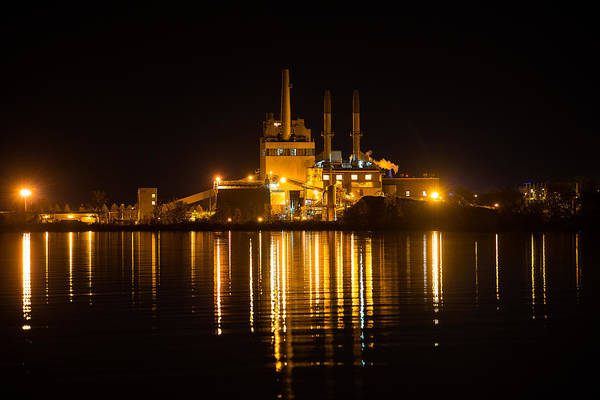 Wall Art - Photograph - Power Plant by Paul Freidlund
