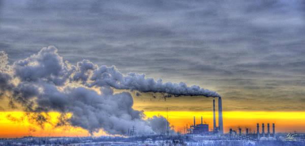Photograph - Power Plant by Sam Davis Johnson