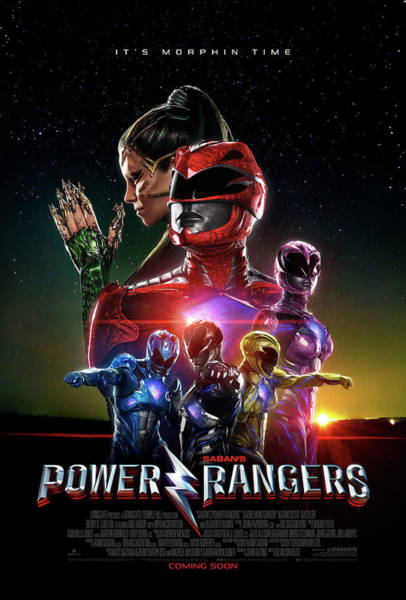 Wall Art - Digital Art - Power Ranger Poster 2 by Geek N Rock