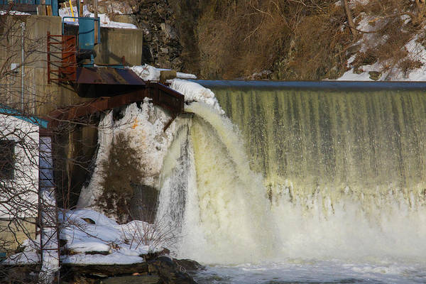 Photograph - Power Station Falls On Black River One by JimO Ogilvie