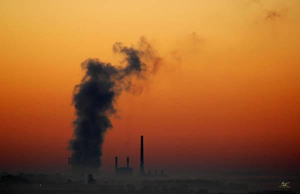 Photograph - Power Sunrise by Sam Davis Johnson