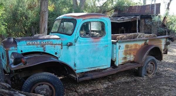 Photograph - Power Wagon by Cheryl Fecht