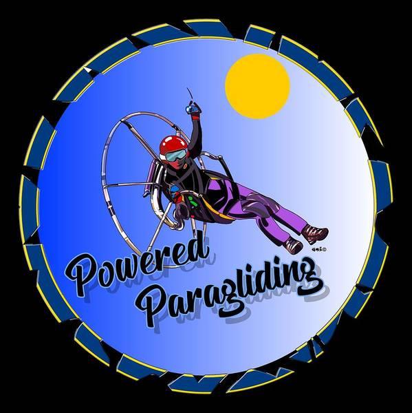 Powered Paragliding Art | Fine Art America