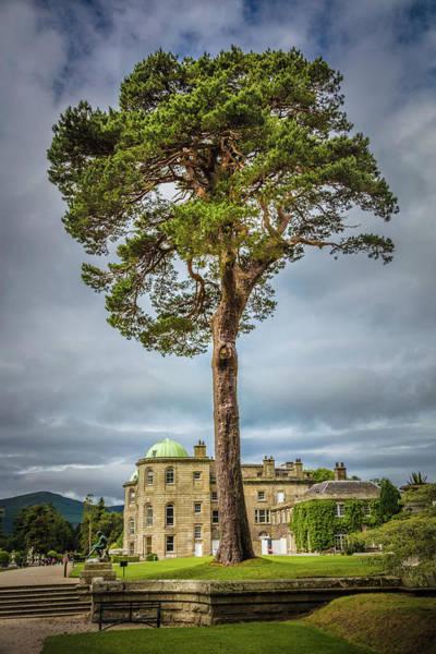 Photograph - Powerscourt Gardens Chateau by Debra and Dave Vanderlaan