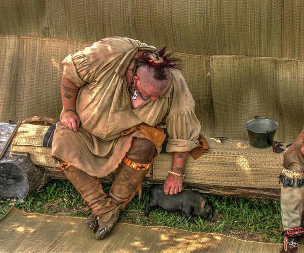 Photograph - Powwow Pig by Wayne King