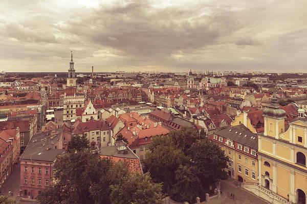 Photograph - Poznan Cityscape East View by Jacek Wojnarowski