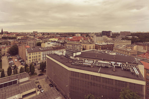 Photograph - Poznan Cityscape North West View by Jacek Wojnarowski