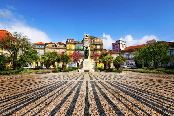 Photograph - Praca De Carlos Alberto - Porto, Portugal by Nico Trinkhaus