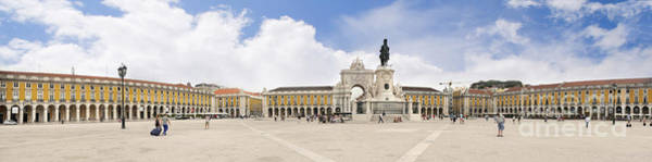 Photograph - Praca Do Comercio, The Square Of Commerce by Brenda Kean