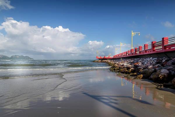 Photograph - Prachuap Pier by Georgia Fowler