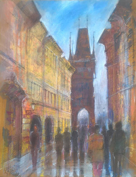 Painting - Praga Cityscape by Lorand Sipos