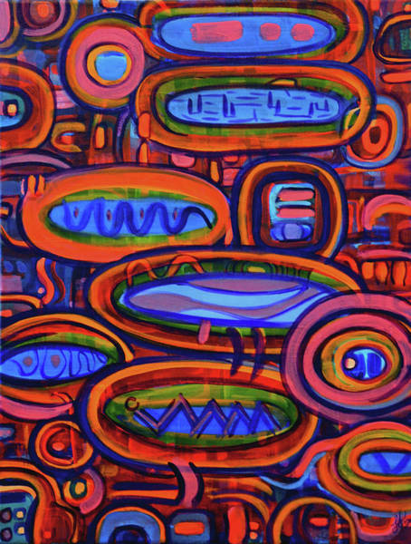 Painting - Pragmatic Red by Lynda Lehmann