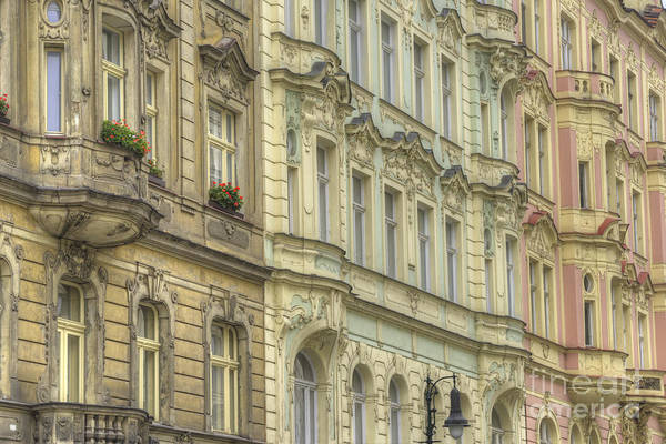 Baroque Photograph - Prague. Architectural Detail by Juli Scalzi
