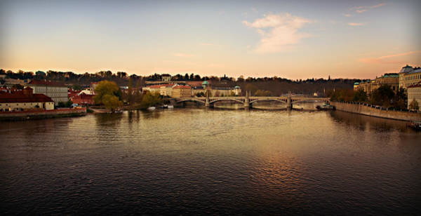 Famous Wall Art - Photograph - Prague At Sunrise by Jaroslaw Blaminsky