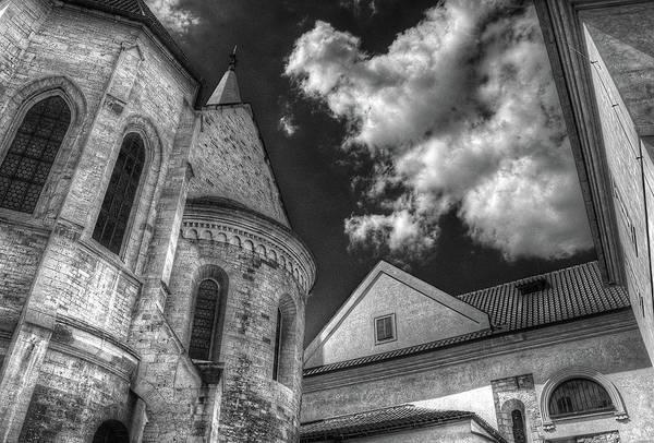 Photograph - Prague Castle Detail by Michael Kirk
