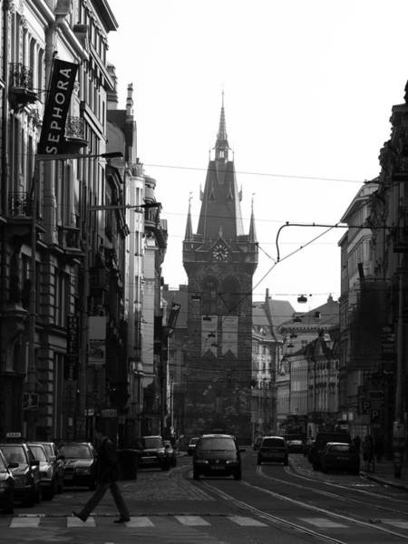 Wall Art - Photograph - Prague Cityscape - 2 Of 4 by Alan Todd