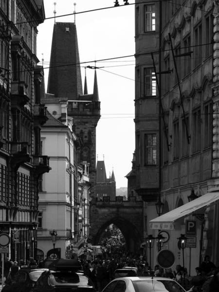 Wall Art - Photograph - Prague Cityscape - 3 Of 4 by Alan Todd