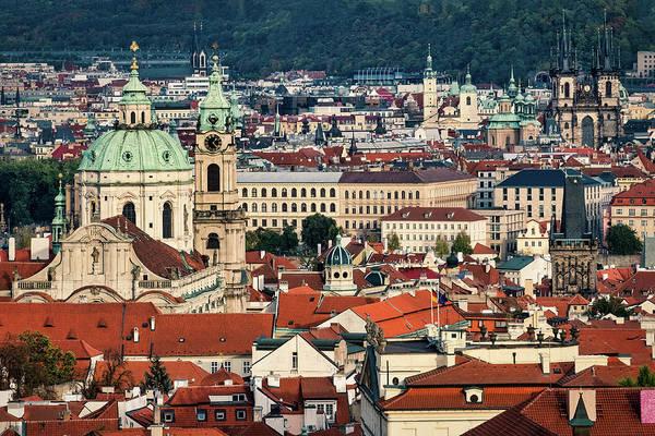 Photograph - Prague Cityscape by Stuart Litoff