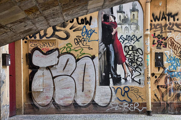 Photograph - Prague Graffiti And Wall Art by Stuart Litoff